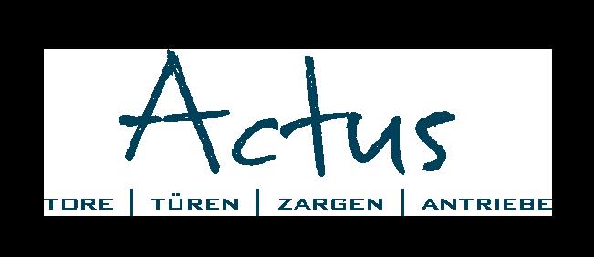 Actus | Tore Türen Zargen Antriebe - Hörmann Partner